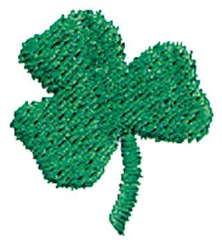 St. Patrick's Day Embroidery (free pattern)