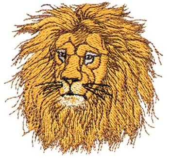 Lion embroidery design - Machine Embroidery Downloads: Designs