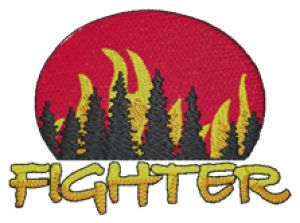 Fighter - Custom Online Embroidery Design