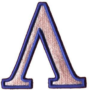 Greek Puff Letter A Embroidery Design - Custom Shirts, Custom T