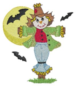 Scarecrow Embroidery Designs:HY0562