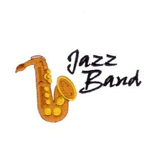 Jazz Band Embroidery Designs:CD071906KM