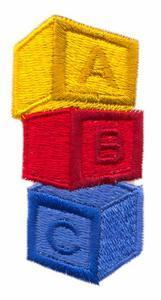 Letter Blocks - Custom Online Embroidery Design