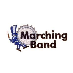 Marching Band Embroidery Designs:CD071906KL