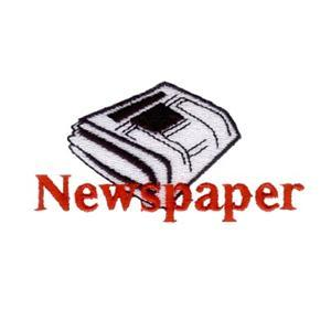 Newspaper Embroidery Designs:CD071906KO