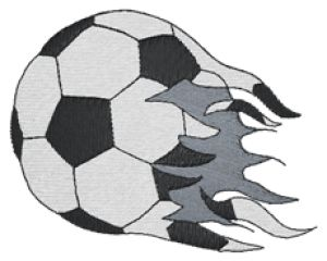 SOCCER Embroidery Designs:SP2287