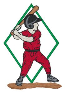 Little League Embroidery Designs:SP2294