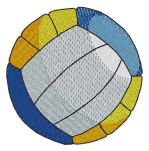 Beach Volleyball Embroidery Designs:SP2941