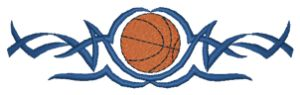 BASKETBALL - Custom Online Embroidery Design