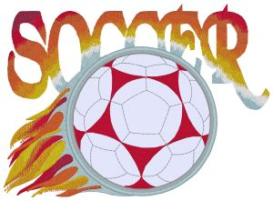 Soccer Embroidery Designs:SP3719
