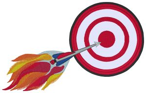 Archery Embroidery Designs:SP3725