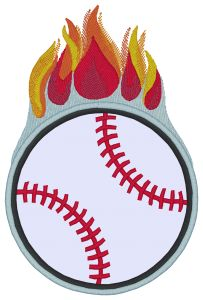 BASEBALL Embroidery Designs:SP3726