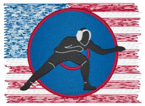 WRESTLING Embroidery Designs:SP4477