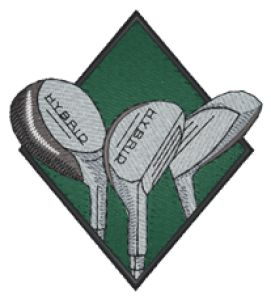 GOLF - Custom Online Embroidery Design