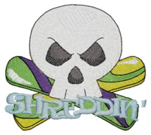 SNOWBOARDING Embroidery Designs:SP4671