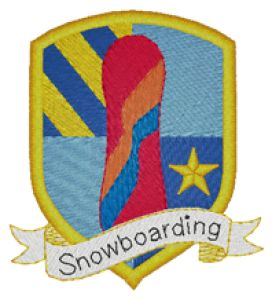 SNOWBOARDING Embroidery Designs:SP4676