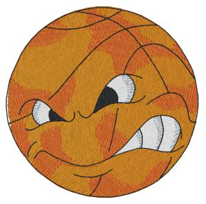 Basketball Toon Embroidery Designs:SP5557