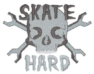 SKATEBOARD Embroidery Designs:SP5611
