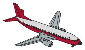 Commercial Airliner Embroidery Designs:WH0764