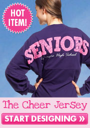 Custom Cheer Jerseys and Cheer Shirts