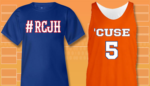 March Madness Fan Jerseys