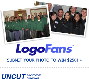 These Logo Fans Love Their Embroidered Corporate Shirts & Uniforms! Submit a Photo Of Your Custom Apparel to Win $250