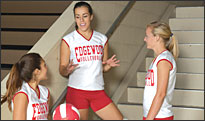Personalized Teamwork Athletic Volleyball Uniforms