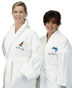 Custom Embroidered Robes & Logo Sleepwear