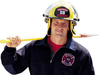 Custom Fire Fighter T-Shirts