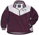 Custom Embroidered Gusseted Pullover Jacket, Custom Jackets Embroidered by TeamSportswear.com