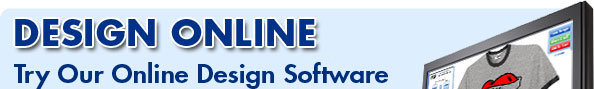 Try our online designers