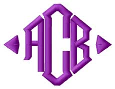 Diamond Monogram Logo