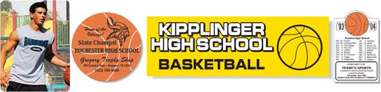 Click for Basketball Spiritwear