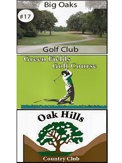 Golf Flag White Digitally Printed Full Color Custom W/grommets