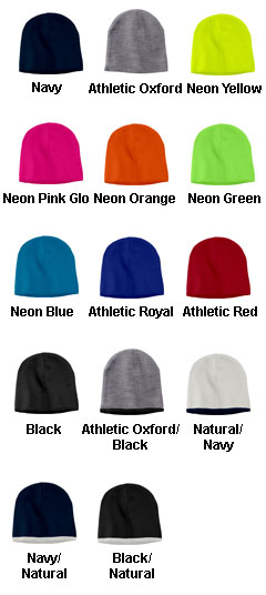 Trimmed Knit Beanie Cap - All Colors