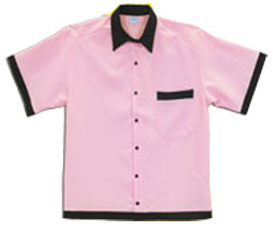 Adult 50s Retro Bowling Shirt