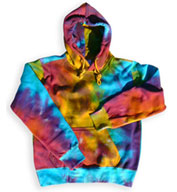 Pro-Weave Tie Dye Hooded Sweatshirt - Mens