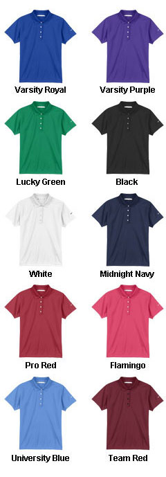 Ladies Nike Golf Tech Dri-Fit UV Sport Shirt - All Colors
