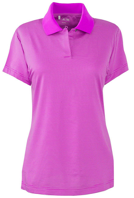 Adidas Golf Polos ClimaCool Classic Stripe Ladies