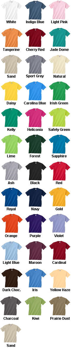 Youth Sports Team T-Shirts - All Colors