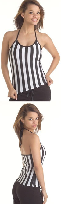 Referee Spaghetti Strap Halter With Shelf Bra