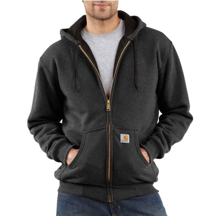 Carhartt Thermal Lined Hooded Zip-Front Sweatshirt - Mens