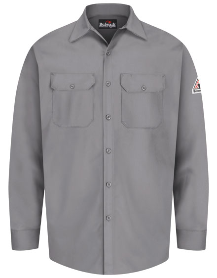 Bulwark Work Shirt Button Front