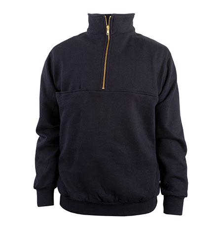 Turtleneck Firefighters Zip Mens
