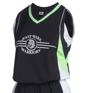 Teamwork 1748 Round Tripper Cool Mesh Jersey - Womens