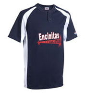 Knuckler Adult 2-Button Placket Baseball Jersey Mens