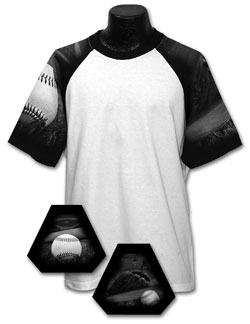 Baseball Team T-shirt Adult Mens