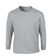 Gildan Ultra 100% Heavyweight Cotton Long Sleeve Tshirt - Youth