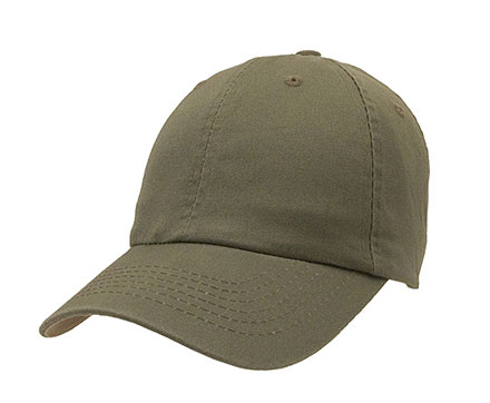 Baseball Hat Unconstructed Chino Washed Cotton Twill