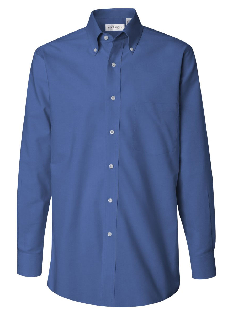 customize van heusen mens wrinkle resistant pinpoint